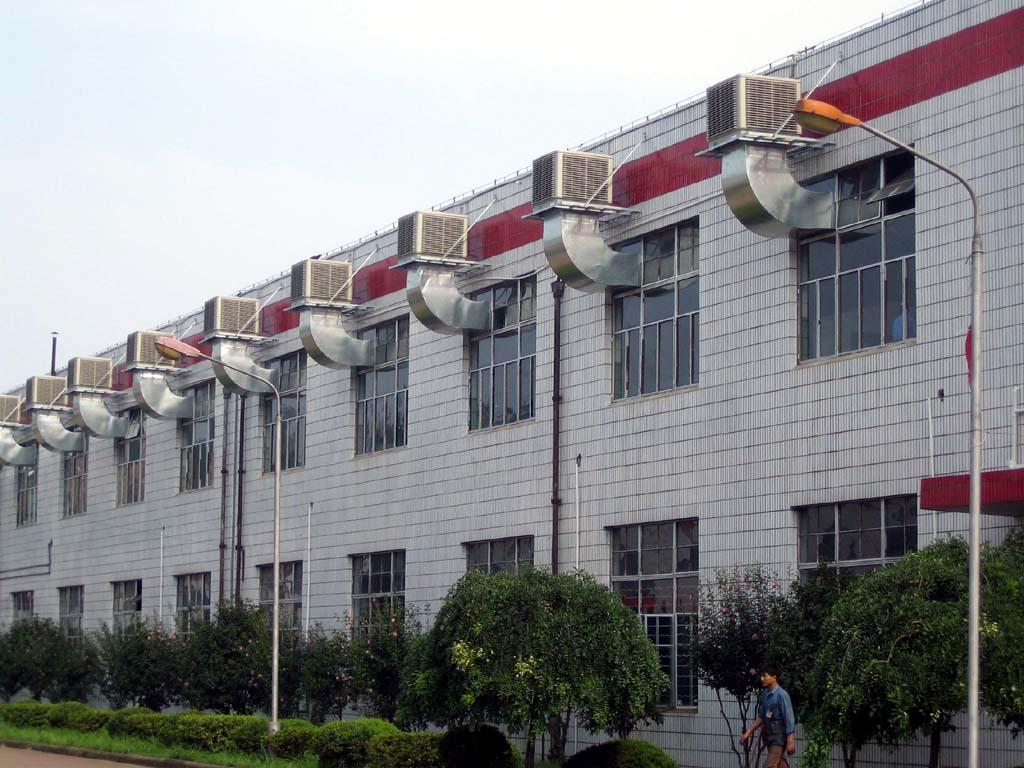 车间降温龙8国际平台安装