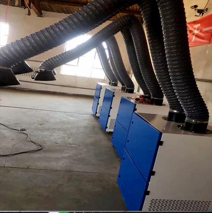汽车焊接烟雾净化龙8国际平台
