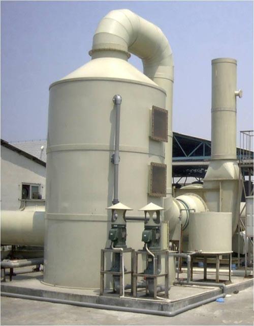 PP酸性气体净化塔