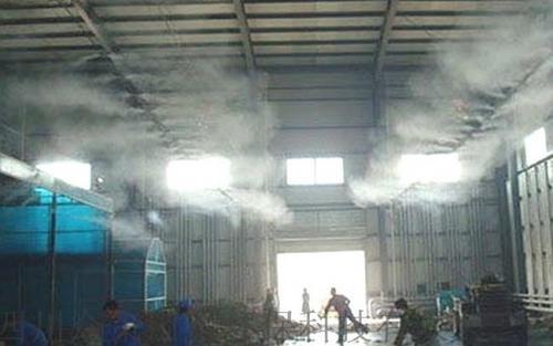 喷淋湿法喷洒除臭方案